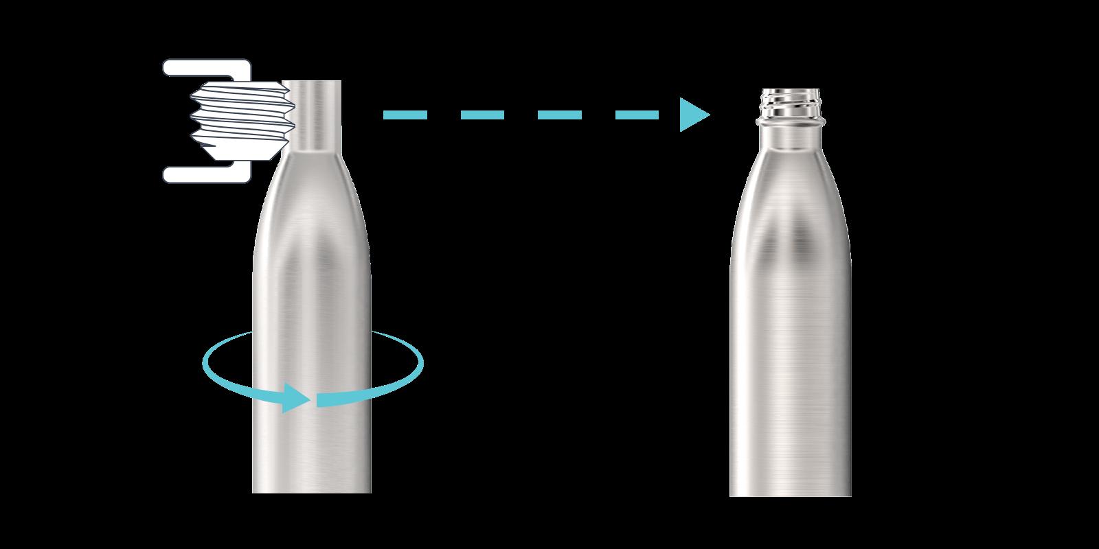 Wie wir unsere Metall-Flaschen herstellen - Step3