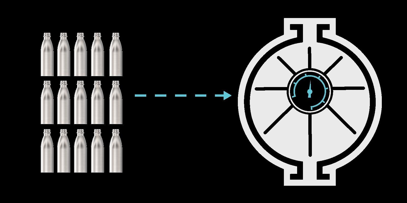 Wie wir unsere Metall-Flaschen herstellen - Step5